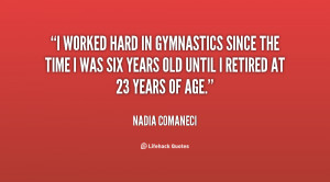 Nadia Comaneci Quotes