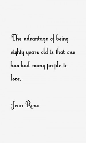 Jean Reno Quotes & Sayings