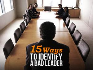 Bad Leadership