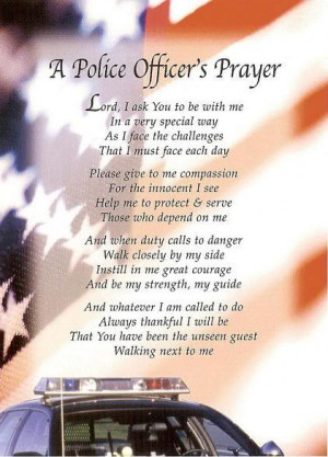 Police Officers Prayer Image