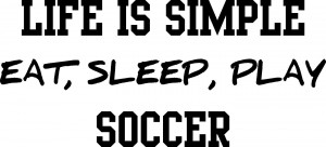 Soccer Quotes Recreational wall quotes