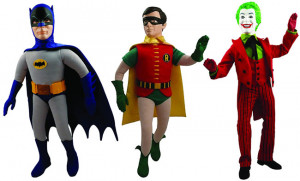 Home » TOYS & GADGETS » 1966 Batman, Robin and Joker 17 inch talking ...