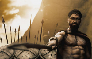 300 (2006) - King Leonidas - played by Gerard Butler