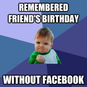 Remembered A Birthday