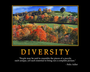 DIVERSITY - Motivational Wallpaper
