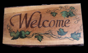 Wood Carving Signs