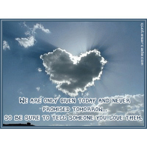 Heart Shaped Cloud Love Quotes - Love Quotes Scarves