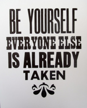 Oscar wilde quotes be yourself