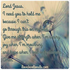 God Give Me Strength Prayer   TWENTY-NINTH SUNDAY IN ORDINARY TIME ...