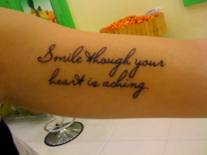 ... disney disney tattoo tattoo quote reblogged from scaredofugly