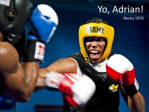 Yo, Adrian! Rocky, 1976