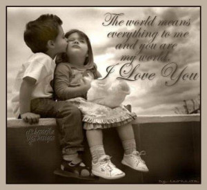 cute, kids, love, quotes