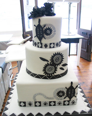 African Traditional Wedding Cakes