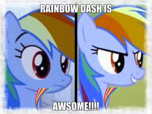 My Little Pony-Rainbow Dash rainbow d