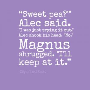 Malec quotes - alec-and-magnus Photo