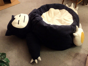 Funny photos funny Bean Bag chair Snorlax