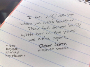 Dear john quotes wallpapers