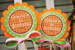 Happy Birthday Pumpkin Pie