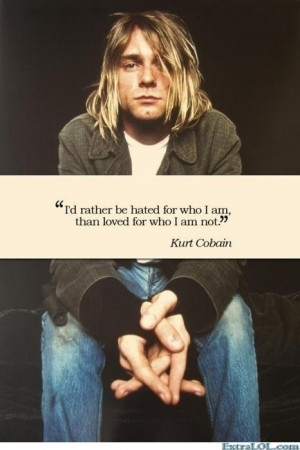 Kurt Cobain... And just so happens to be my favorite tattoo
