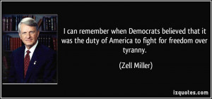 More Zell Miller Quotes