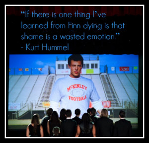 GLEE's Finn Hudson tribute episode The Quarterback