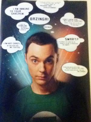 Sheldon Cooper Quotes Bazinga