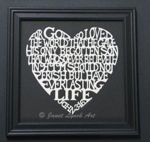 John+316+Heart++Bible+Verse+Quote++by+ArtGalleryRiverRd+on+Etsy,+$69 ...