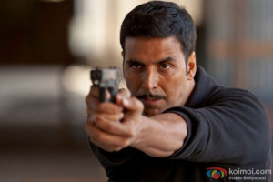 Akshay Kumar in a still from movie 'Baby'