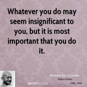 Insignificant Quotes