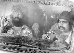 the cheech and chong comedy sketches then by all means check this one ...