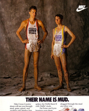 ... Lynn Jennings, two of US best cross country runners ever, circa 1991