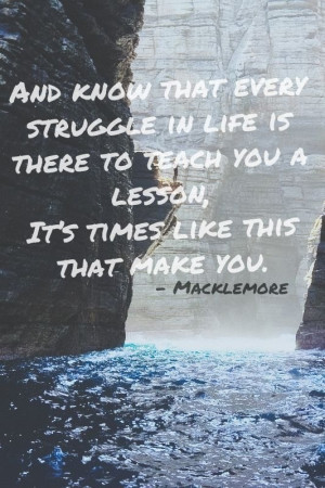 this is a great quote by macklemore