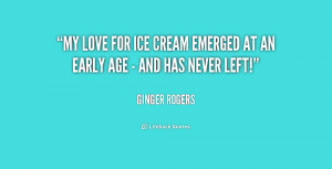 Love Quote About Ice Cream