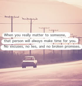 When You Really Matter…