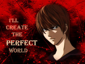 Light Yagami death note light