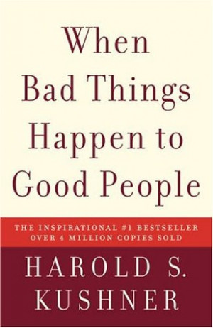"... marking ""When Bad Things Happen to Good People"" as Want to Read"