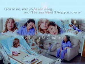 Meredith & Cristina - Grey's Anatomy Fan Art (8814124) - Fanpop ...