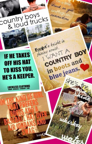 Country love quotes
