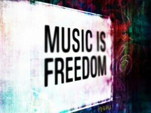 cute, music freedom, music lvr, quote, quotes