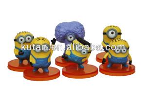 Mini regalo divertente minion giallo personaggi dei cartoni animati ...