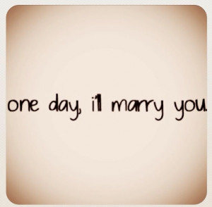 Some day Baby..some day!!!! We are perfect together & could make each ...