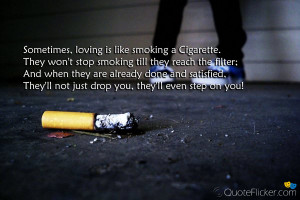 Famous Anti Smoking Quotes They won't stop smoking till