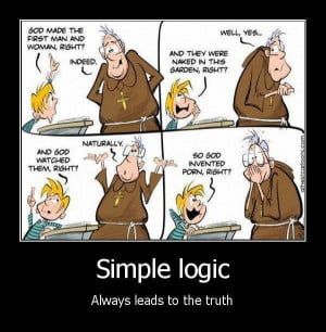 Atheism simple logic