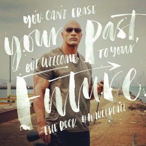Dwayne Johnson Picture Quote future