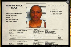 Happy's Criminal History