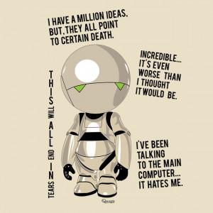 Marvin : the pessimist robot