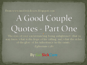 Good Husband and Good Wife - Base On Biblical Wisdom What Are Their ...
