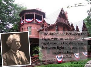 Mark Twain Writing Quote