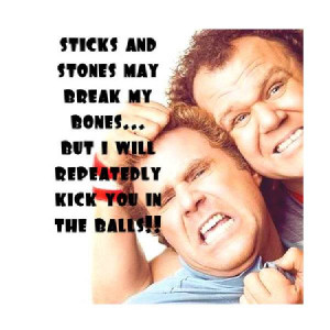 Cute Brother Quotes sticky-and-stones-may-break-my