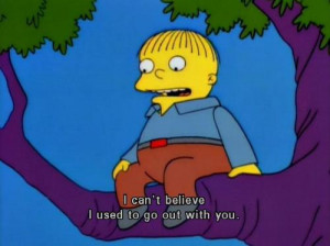 Simpsons Ralph Quotes At 7:00pm in ralph wiggum